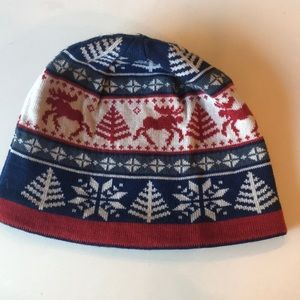 Beanie with fleece lined